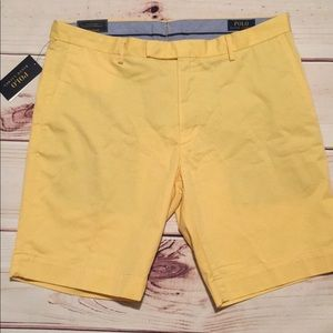 New Polo Ralph Lauren Shorts Size 36 Yellow